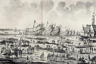 041 Scheepstimmerwerf Antwerpen onder Napoleon
