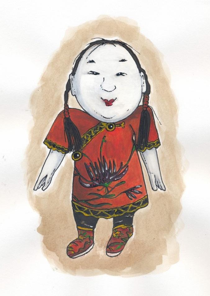 048 Chinese popje