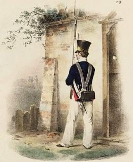 028 b wachthuis nederlandse infanterist 1832