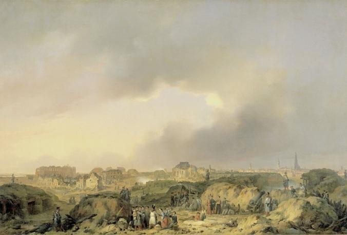 028 e SK-A-966 De citadel van Antwerpen kort na het beleg Ferdinand De Braekeleer (I), 1832 - 1839_2
