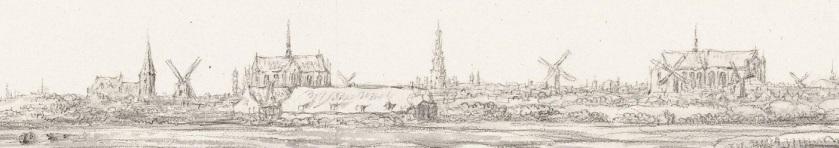 RP-T-1900-A-4378 Gezicht op Leiden, Aelbert Cuyp, 1630 - voor 1649