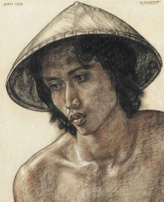 rudolf_bonnet_a_young_balinese_man_wearing_a_hat_d5659088g