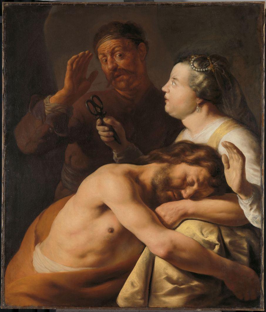 SK-A-1627 Simson en Delila, Jan Lievens, 1630 - 1635.jpg