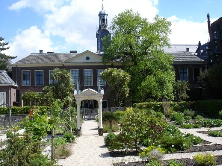 004 constructie Clusius tuin Leiden