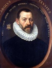 005 Carolus_Clusius00 Clusius by Jacob de Monte, 1585. UBL, PK Icones Leidensis