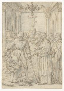 005 RP-T-1895-A-3053 Terechtstelling van de baljuw, Willem Pietersz. Buytewech, 1618