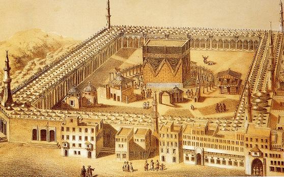 010 b Ill door S. Keijzer. De bedevaart der inlanders naar Mekka 1871
