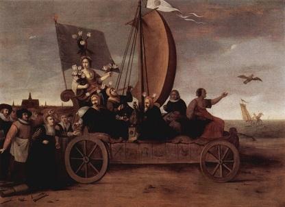 021 1450030a Flora;s Mallewagen Hendrik Gerritsz. Pot Fr. Halsmuseum