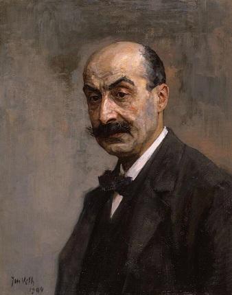 23aa61ff9fcd2e68a63d99ca7966354e0551c751a96d27665d4743c838ef8a09 Portret Max Liebermann door Jan Veht in Dordrechts Museum 1904