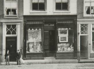 Boekhandel Blussé en Van Braam VoorstraatScheffersplein Arch Dord