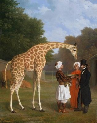 008 d The_nubian_giraffe (1) Jacques Laurent