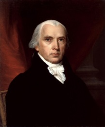 012 James_Madison Coll Witte Huis. John Vanderlyn 1816
