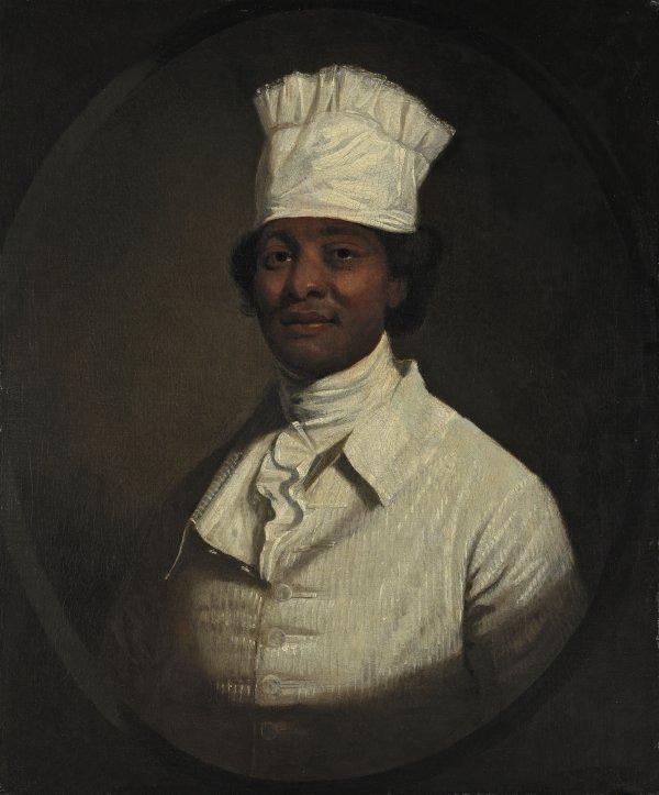 1983.37_retrato-cocinero-george-washington 's cook Gilbert Stuart Thyssen Bornemiza 1795-1797 was slaaf Hercules