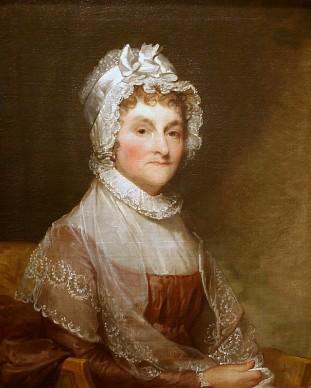 Abigail Smith Adams, 1800-16, Gilbert Stuart