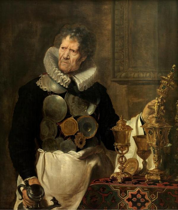 Abraham Grapheus door Cornelis Vos
