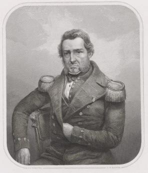 RP-P-OB-47.722 Portret van Jan Carel Pilaar, Johann Wilhelm Kaiser (I), naar Petrus Johannes Schotel, 1823 - 1900