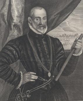 RP-P-OB-62.216 Portret van Francisco de Valdez, Cornelis Visscher (II), 1649