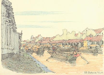 hendrik-petrus-berlage-amsterdam-1856-the-hague-1934-a-mountainous-landscape-with-houses_2