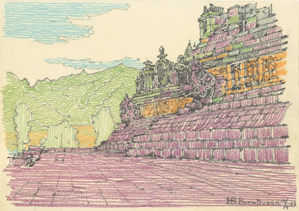 hendrik-petrus-berlage Borobudur
