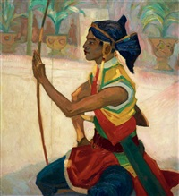 jan-poortenaar-an-archer-of-the-guard-of-susuhunan-of-solo