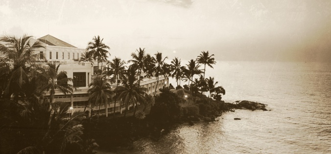 Mount Lavinia Hotel op Ceylon