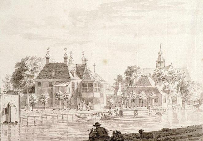 Afbeelding 13 t Hof van Bredehoff in Oosthuizen. Corn. Pronck