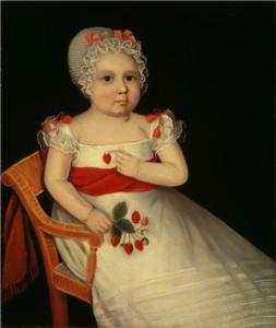 Ammi Phillips Strawberry girl