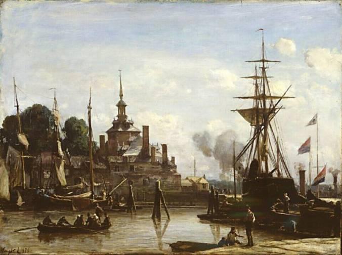 gezicht-op-de-haven-van-rotterdam-johan-barthold-jongkind-46419-copyright-kroller-muller-museum