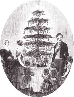 Illustr London News 1848 Victoria en Albert en hun kinderen