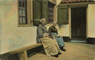 Oude mannen- en vrouwenhuis Zandvoort 1905 gesloopt 1929