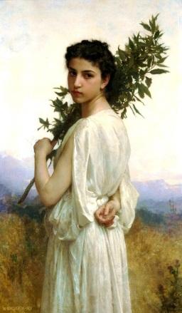 William-Adolphe_Bouguereau_(1825-1905)_-_Laurel_Branch_(1900)