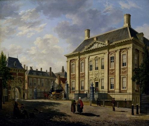 000 a SK-A-1369 Het Mauritshuis te Den Haag, Bartholomeus Johannes van Hove, 1825