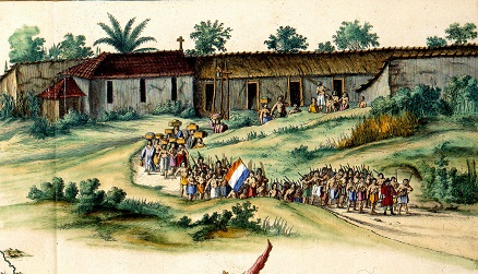 003 t Engenho_na_Paraíba_1645 Frans Post Atlas v.d. Hagen Blaeu