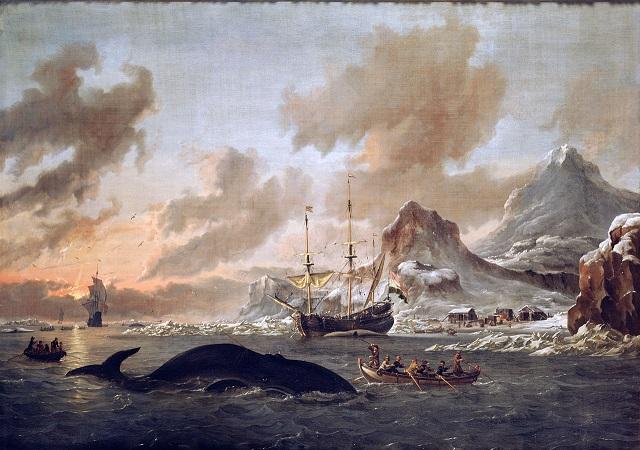 1280px-Walvisvangst_bij_de_kust_van_Spitsbergen_-_Dutch_whalers_near_Spitsbergen_(Abraham_Storck,_1690)