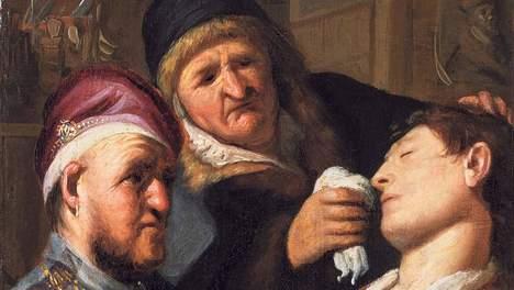 media_xl_3654268 Rembrandt van Rijn, jongen na aderlating flauwgevallen