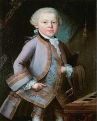 002 . de jonge Mozart, gesch. waarsch Pietro Antiono Lorenzoni 1763