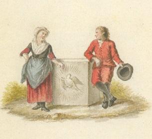 022 c pentek ingekl, wezen 18e eeuw archief