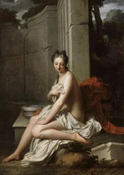 Suzanne_au_bain_(Jean-Baptiste_Santerre) Museum Versailles