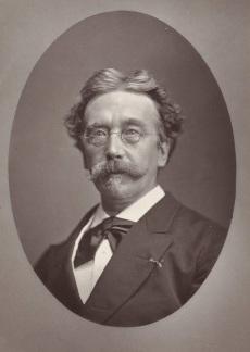 026 a RP-F-F01420 Portret van A.H. Bakker Korff, Henri J. Stemberg, 1881 - 1885