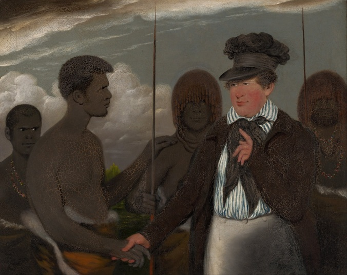 Benjamin_Duterrau_-_Mr_Robinson's_first_interview_with_Timmy_-_Nat Gallery of Australia