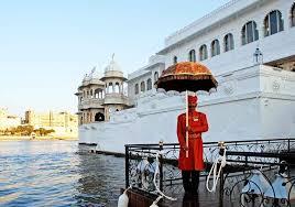 udaipur lake palace ontvangst
