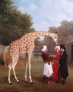 001 Jacques-Laurent_Agasse_-_Nubian_Giraffe_-_Google_Art_Project