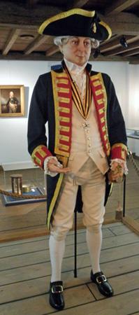 jan-hendrik-van-kinsbergen als kapitein gekleed door Gelderse Roos