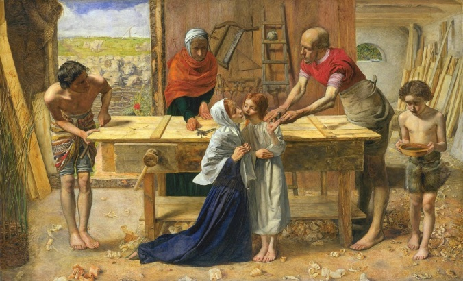 001 John_Everett_Millais_-_Christ_in_the_House_of_His_Parents_Tate Brittain