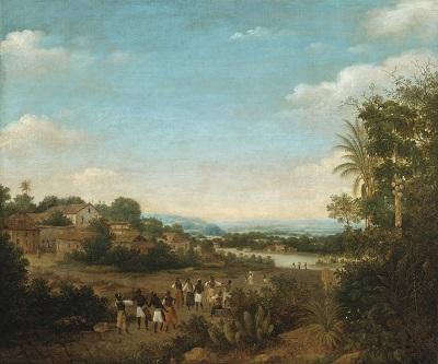003 m 1037N08712_5SCPP Frans Jansz. Post Sotheby's Gezicht op Olinda, Brazilië, Frans Jansz. Post, 1662