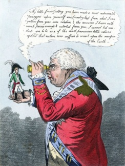 017 f James Gillray The King of Brobdingnag and Gulliver