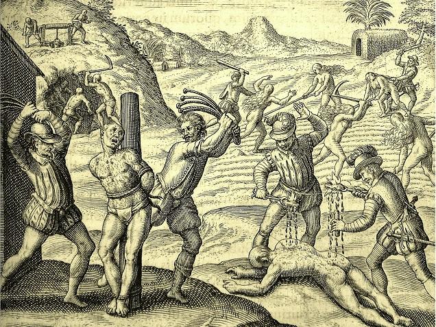 Conquistadors'_abuses_of_Amerindians_(1598_edition_for_las_Casas'_book)