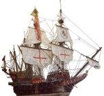 galleon-spanish-180871d1b488956e Museo Storico Navale di Venezia gevonden door Colombia met goudschat in 2015