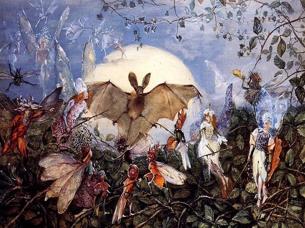 001 Fitzgerald,_Attacking_a_Bat ca 1860