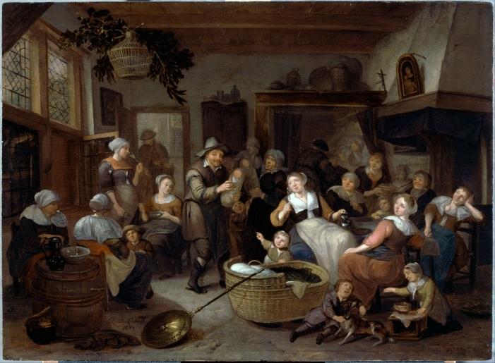 001 012 p Brakenburgh,_Richard_-_Celebration_of_a_Birth_-_Google_Art_Project